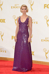 Claire Danes attends the 67th Emmy Awards at the Microsoft Theatre on September 20th, 2015 in Los Angeles, CA, USA. Photo by Lionel Hahn/ABACAPRESS.COM  | 516539_030 Los Angeles Etats-Unis United States