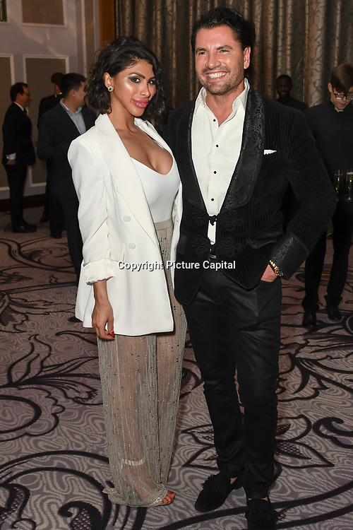 Antonio Grano is an actor Arriver's the Grand Final MISS USSR UK 2019 at Hilton Hotel Park Lane on 27 April 2019, London, UK.