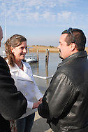 12/7/09 - 11:25:20 AM - FORTESCUE, NJ: Diana & Ken - December 7, 2009 - Fortescue, New Jersey. (Photo by William Thomas Cain/cainimages.com)