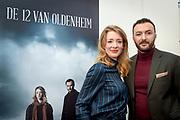 Presentatie De 12 van Oldenheim, een serie van RTL / Videoland.<br /> <br /> Op de foto:  Nasrdin Dchar en Noortje Herlaar