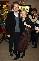 TV presenter MARIELLA FROSTRUP and her husband JASON McCUE at a party hosted by the Gussalli Beretta family to celebrate the opening of the new Beretta store, 36 St.James's Street, London SW1 on 10th January 2006.<br /><br />NON EXCLUSIVE - WORLD RIGHTS