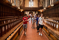 St Paul's School Move In Day.  ©2018 Karen Bobotas Photographer