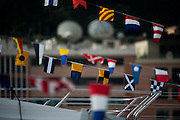 May 25-29, 2016: Monaco Grand Prix. Monaco atmosphere, yachts, flags