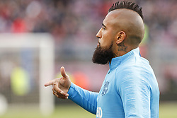 March 9, 2019 - Barcelona, Catalonia, Spain - FC Barcelona midfielder Arturo Vidal (22) during the match FC Barcelona v Rayo Vallecano, for the round 27 of La Liga played at Camp Nou  on 9th March 2019 in Barcelona, Spain. (Credit Image: © Mikel Trigueros/NurPhoto via ZUMA Press)