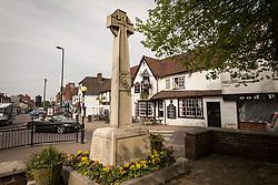 War memorial, Billericay, Essex UK