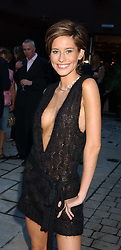 Model JASMINE LENNARD at the opening party of the new Frankie's Italian Bar and Grill hosted by Frankie Dettori, Marco Pierre White and Edward Taylor at 68 Chiswick High Road, London W4 on 1st September 2005.<br /><br />NON EXCLUSIVE - WORLD RIGHTS