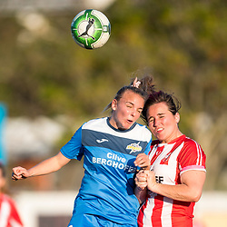 BRISBANE, AUSTRALIA - JULY 29:  during the round 16 PlayStation 4 National Premier Leagues Queensland Women's match between Olympic FC and SWQ Thunder on July 29, 2017 in Brisbane, Australia. (Photo by Olympic FC / Patrick Patrick Kearney)