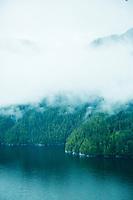 Aerial photos of coastal British Columbia, Canada.