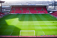A general view of the pitch before the EFL Sky Bet League 1 match between Barnsley and Charlton Athletic at Oakwell, Barnsley, England on 29 December 2018.