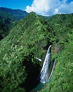 Mana Waipuna Falls, Kauai, Hawaii, USA<br />