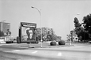 """0609-37-22 West Olive, Copper Penny. Clint Eastwood """"Tightrope"""" film billboard (released 1984) Hollywood, California."""