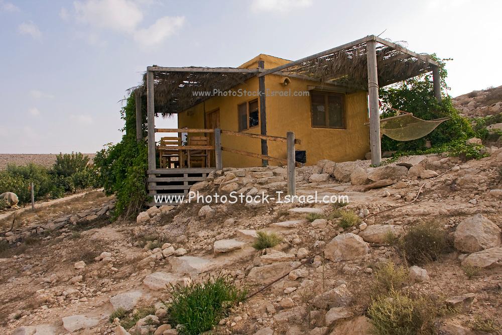 Solitary farm in the Negev Desert, Israel
