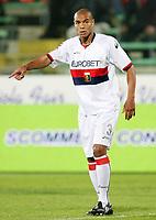 """Matteo Ferrari (Genoa)<br /> Firenze 27/09/08 Stadio """"Artemio Franchi""""<br /> Campionato Serie A 2008/2009<br /> Fiorentina-Genoa (1-0)<br /> Foto Luca Pagliaricci Insidefoto"""