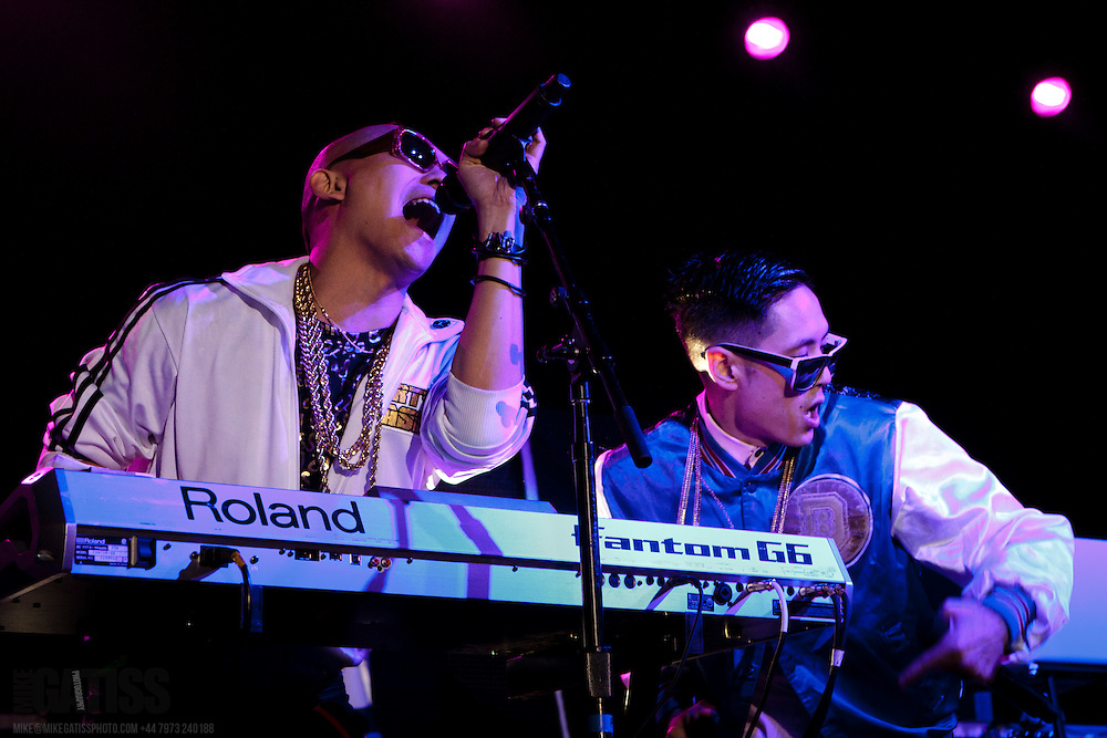 Far East Movement performing live at Manchester Academy, Manchester, 2012-03-07