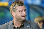 Oxford United manager Karl Robinson during the EFL Sky Bet League 1 match between Oxford United and Coventry City at the Kassam Stadium, Oxford, England on 9 September 2018.