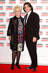 © Licensed to London News Pictures. 18/10/2016. DAME BARBARA WINDSOR and husband SCOTT MITCHELL attend the Variety Showbiz Awards at the Hilton Park Lane Hotel. London, UK. Photo credit: Ray Tang/LNP