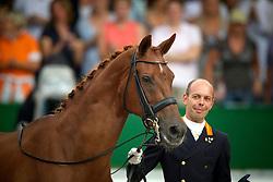 Minderhoud Hans Peter (NED) - Exquis Nadine<br /> farewell from the sport<br /> European Championships Dressage - Rotterdam 2011<br /> © Dirk Caremans