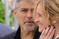 May 12, 2016 - Cannes, France - WORLD RIGHTS.Cannes, France, 12.05.2016, 69thCannes Film Festival in Cannes. The 69th edition of the film festival will run from May 11 to May 22. Photocall Money Monster, .NZ. George Clooney, Julia Roberts.Fot. Radoslaw Nawrocki/FORUM (FRANCE - Tags: ENTERTAINMENT; RED CARPET) (Credit Image: © FORUM via ZUMA Press)