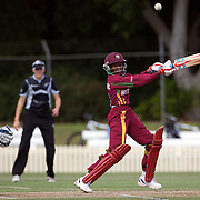 Afy Fletcher batting during the West Indies V New Zealand group A match at Bankstown Oval  in the ICC Women's World Cup Cricket Tournament, in Sydney, Australia on March 10, 2009. New Zealand won by 56 runs. Photo Tim Clayton
