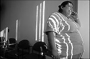 """.With her weight over 320 pounds, Jennifer W. Sanchez phones her father before undergoing gastric bypass surgery. """"I want to fit in my ideal white wedding dress, have children, sit comfortably on an airplane, run a marathon, live long enough to play with my grandkids."""""""