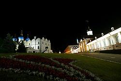 June 24, 2017 - Complexo arquitetônico e histórico do Kremlin de Kazan, cidadela histórica principal do Tartaristão, declarado Património Mundial pela UNESCO em 2000. Combina harmoniosamente elementos da Igreja Ortodoxa Oriental e da cultura Islâmica às margens do rio Volga, neste sábado, 24. A cidade é uma das 4 sedes da Copa das Confederações FIFA 2017 na Russia. (Credit Image: © Heuler Andrey/Fotoarena via ZUMA Press)