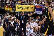 DESCRIZIONE : Berlino Berlin Eurobasket 2015 Group B Serbia Germany<br /> GIOCATORE : Sasha Djordjevic<br /> CATEGORIA : Allenatore Coach Mani <br /> SQUADRA : Serbia<br /> EVENTO : Eurobasket 2015 Group B<br /> GARA : Serbia Germany<br /> DATA : 05/09/2015<br /> SPORT : Pallacanestro<br /> AUTORE : Agenzia Ciamillo-Castoria/M.Longo<br /> Galleria : Eurobasket 2015<br /> Fotonotizia : Berlino Berlin Eurobasket 2015 Group B Serbia Germany