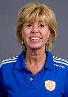 Den Bosch - 2012 Jong Oranje dames , U18, manager  Margriet Zeegers . COPYRIGHT KOEN SUYK