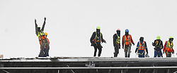 South Africa -Cape Town - 28 September 2020- Construction workers are busy with their daily duty near the Cape Town International Airport.The vacant space has been built and will be a business park when completed.Picture:Phando Jikelo/African News Agency(ANA)