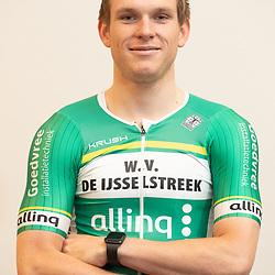 25-02-2020: Wielrennen: Teampresentatie IJsselstreek; Harderwijk <br /> Gino Vierhouten