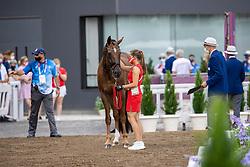 Dufour Cathrine, DEN, Bohemian, 118<br /> Olympic Games Tokyo 2021<br /> © Hippo Foto - Dirk Caremans<br /> 23/07/2021