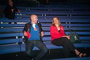 DAVID BATTISTELLA; TRACY CHEVALIER, UnSeen Narratives, Ted Salon, Unicorn Theatre, Tooley St. London. 10 May 2012.