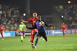 South Africa: Johannesburg: Kaizer Chiefs player Khama Billiat and Highlands Park player Ryan Rae during the Premier Soccer League (PSL) at Makhulong stadium in Tembisa, Gauteng.<br />02.10.2018<br />Picture: Itumeleng English/African News Agency (ANA)