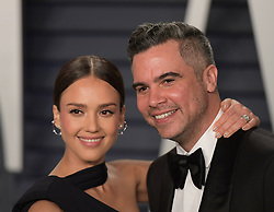 February 24, 2019 - Beverly Hills, California, U.S - Jessica Alba (L) and Cash Warren at the 2019 Vanity Fair Oscar Party held at the Wallis Annenberg Center in Beverly Hills, California on Sunday February 24, 2019. JAVIER ROJAS/PI (Credit Image: © Prensa Internacional via ZUMA Wire)