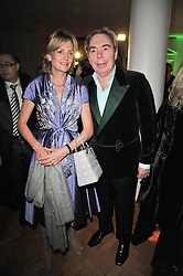 ANDREW & MADELEINE LLOYD WEBBER at the press night of the new Andrew Lloyd Webber  musical 'The Wizard of Oz' at The London Palladium, Argylle Street, London on 1st March 2011 followed by an aftershow party at One Marylebone, London NW1