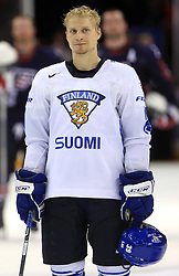 Niko Kapanen of Finland at ice-hockey match Finland vs USA at Qualifying round Group F of IIHF WC 2008 in Halifax, on May 11, 2008 in Metro Center, Halifax, Nova Scotia, Canada. (Photo by Vid Ponikvar / Sportal Images)