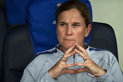 June 28, 2019 - Paris, France - Jill Ellis coach of United States during the 2019 FIFA Women's World Cup France Quarter Final match between France and USA at Parc des Princes on June 28, 2019 in Paris, France. (Credit Image: © Jose Breton/NurPhoto via ZUMA Press)