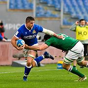 Roma 27/02/2021, Stadio Olimpico<br /> Guinness Six Nations 2021<br /> Italia vs Irlanda <br /> <br /> Johan Meyer e Jack Conan