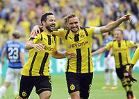 1:0 Jubel v.l. Torschuetze Gonzalo Castro, Marcel Schmelzer (Dortmund)<br /> Dortmund, 17.09.2016, Fussball Bundesliga, Borussia Dortmund - SV Darmstadt 98<br /> Norway only
