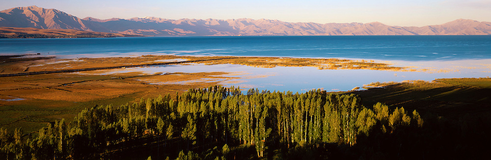 TURKEY, EASTERN AREAS Lake Van and fertile coastal plain