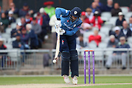 Derbyshires Billy Godleman (Capt) during the Royal London 1 Day Cup match between Lancashire County Cricket Club and Derbyshire County Cricket Club at the Emirates, Old Trafford, Manchester, United Kingdom on 2 May 2019.