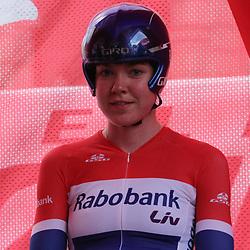 03-07-2015: Wielrennen: Giro Rosa 2015 proloog: Ljubljana<br /> Anns van der Breggen