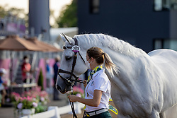 Laurie Katie, AUS, Casebrooke Lomond, 305<br /> Olympic Games Tokyo 2021<br /> © Hippo Foto - Dirk Caremans<br /> 31/07/2021