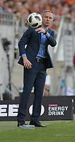 2018.05.06 Bialystok Pilka nozna Lotto Ekstraklasa sezon 2017/2018 Jagiellonia Bialystok ( zolto-czerwone ) - Legia Warszawa N/z Ireneusz Mamrot trener Jagiellonii fot Michal Kosc / AGENCJA WSCHOD