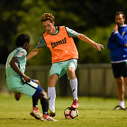 BRISBANE, AUSTRALIA - MAY 25:  during the Genova International School of Soccer Talent ID Trials on May 25, 2018 in Brisbane, Australia. (Photo by Patrick Kearney)