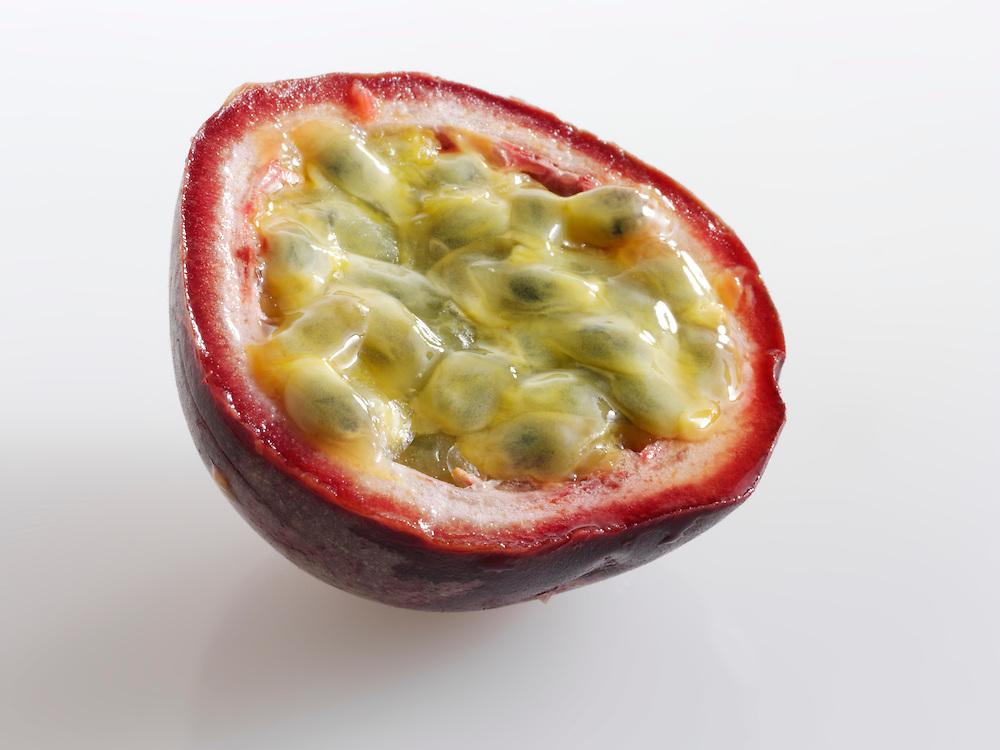Cut passsion fruit