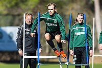 BILDET INNGÅR IKKE I FASTAVTALER. ALL NEDLASTING BLIR FAKTURERT.<br /> <br /> Fotball<br /> Tyskland<br /> Foto: imago/Digitalsport<br /> NORWAY ONLY<br /> <br /> Samstag, 09.01.2016, 1. Bundesliga, Saison 2015/2016, Trainingslager Hannover 96, Iver Fossum (Hannover 18)