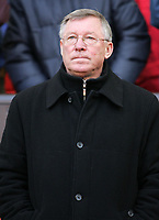 Photo: Paul Thomas.<br /> Manchester United v Manchester City. The Barclays Premiership. 09/12/2006.<br /> <br /> Sir Alex Ferguson, manager of Man Utd.