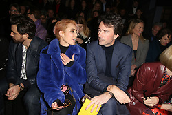 Naomi Rapace and Antoine Arnault attending the Louis Vuitton show as part of the Paris Fashion Week Womenswear Fall/Winter 2018/2019 held at Le Louvre, in Paris, France, on march 05, 2018, France. Photo by Jerome Domine/ABACAPRESS.COM