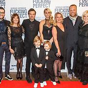 NLD/Amsterdam/20150309 - Premiere Fucking Perfect, Ellemieke Vermolen, partner Sergio Herman, kinderen Noah en Zenna en wederzijdse families