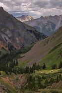 San Juan Mountains, Yankee Boy Basin, Uncompahgre National Forest, near Ouray, Colorado